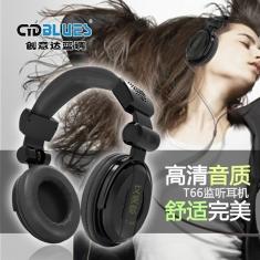 创意达蓝调 T66监听耳机K歌手机耳机音乐耳机DJ耳机