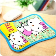 创意可爱卡通护腕鼠标垫垫韩国学生办公防磨滑鼠标手布艺鼠标垫
