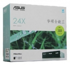 原装正品华硕DRW-24D3ST 24X串口DVD刻录机