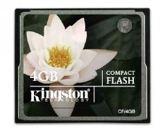 赔本清仓原装正品金士顿 CF 4G  高速CF存储卡 相机内存卡