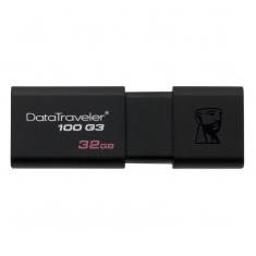 原装正品金士顿DT100 G3 32G U盘 高速USB3.0 收缩
