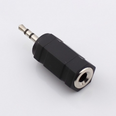 耳机转换头 2.5头转3.5孔 音频连接头