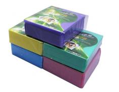 高质量 PP双面袋 光盘袋 100片装 多色混发