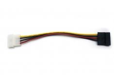 SATA电源线 D型4针转串口电源线 IDE转SATA光驱硬盘 串口电源线
