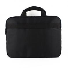 黑色电脑包14寸15.6寸笔记本电脑包男女单式肩包