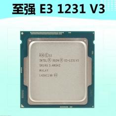 促销至强E3-1231v3 全新正品散片CPU全新正式版3.4G 1150针四核八线程Intel/英特尔