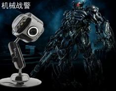 赔本促销战警316+0308+5波带灯全金属防摔高清免驱摄像头 带夜视灯视频头 摄像头