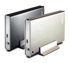 元谷 存储巴士F250 2.5寸SATA USB2.0移动硬盘盒