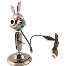 赔本促销铁兔子0308+5波 带麦 带灯 新造型高清摄像头