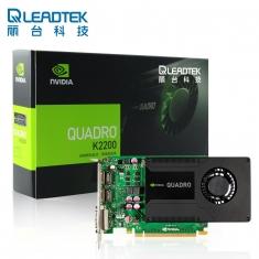 丽台Quadro K2200 4G专业图形工作站显卡 专业设计显卡 工包