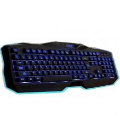 汇佰硕K3300专业游戏单色背光有线键盘