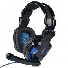 HYUNDAI/现代HY-A800电脑游戏耳机台式头戴式耳麦重低音带话筒