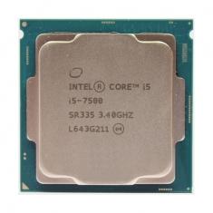 英特尔 i5 7500正品 3.4G 7代酷睿四核散片1151CPU 正式版支持B250