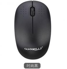 烽火狼M300/m118混发无线鼠标 笔记本台式电脑无限鼠标 省电正品可爱白色黑色