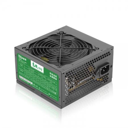 先马 逾辉竞技550额定400W台式机电脑电源 机箱电源长线静音电源
