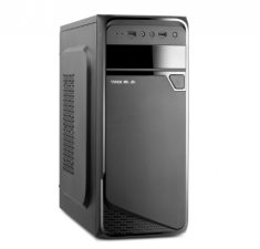 金河田银尔角斗士K11黑化台式电脑家用办公机箱支持走背线SSD长显卡