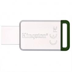 金士顿U盘DT50 16G 不锈钢金属u盘 高速USB3.1