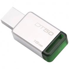 原装金士顿U盘DT50 16G 不锈钢金属u盘 高速USB3.1