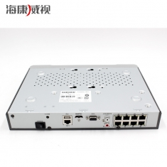 海康威视DS-7808NB-K1/8P 8路H265 POE网络4K高清硬盘录像机