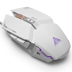金河田M26 游戏7键宏定义机械鼠标绝地求生吃鸡游戏机械USB有线鼠标