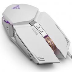 金河田M267游戏7键宏定义机械鼠标绝地求生吃鸡游戏机械USB有线鼠标