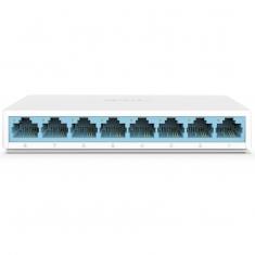 水星S108C/迅捷混发 8口百兆交换机即插即用以太网桌面型低功耗迷你交换机