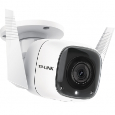 TP-LINK TL-IPC62C-4 1080P高清200W网络夜视摄像头室外