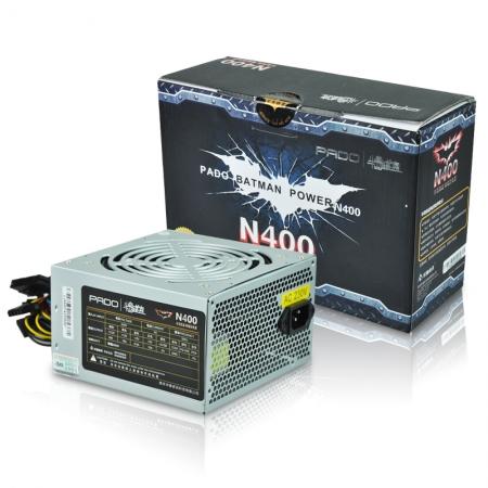 爱国者N400 电源 峰值450W 12CM大风扇台式电源