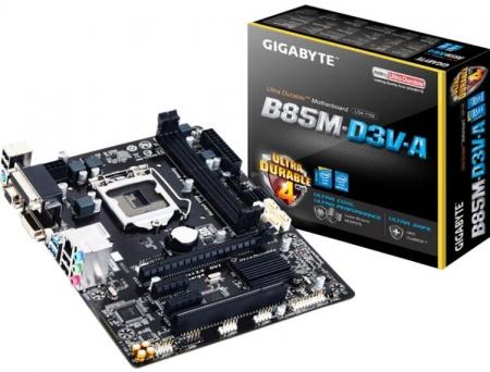 正品库存全新技嘉B85M-D3V/D2V混 B85主板1150全集成小板原装彩盒装