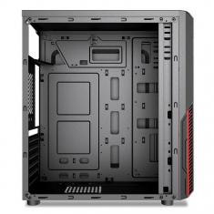 富士康Q7/Q9混发机箱 台式电脑机箱 游戏机箱3.0USB电源上置