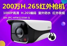 大华DH-IPC-HFW2235M-I1 网络200万单灯监控头H.265编码网络摄像机