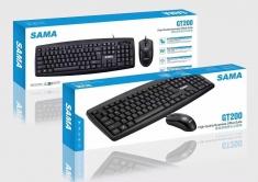 SAMA 先马GT200高品质商务办公有线键鼠套装