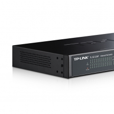 TP-LINK TL-SG1226P 24口全千兆poe交换机监控48V供电器24交换机