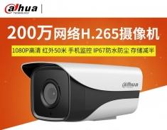 大华 DH-IPC-HFW1235M-I1  200万H.265网络摄像机 红外夜视高清监控