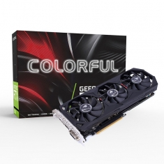 七彩虹Colorful GeForce GTX 1660 Gaming ES 6G三风扇电竞显卡