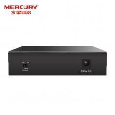 MERCURY水星 MCS1505D-P 5口千兆安防监控专用PoE交换机