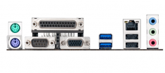 Asus/华硕 H81M-D R2.0//H81M-E混发 全固态H81主板LGA1150小板 打印口COM口  工包