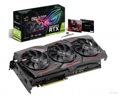 华硕(ASUS)猛禽ROG-STRIX-GeForce RTX 2070 SUPER-A8G-GAMING 2070S 1605-1830MHz  游戏显卡8G