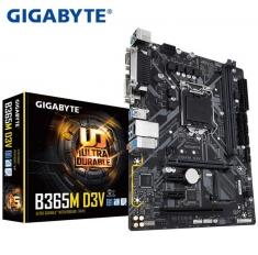 技嘉B365M D3V电脑游戏电竞主板 支持I5 9400F I7 9700