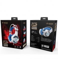 梅赛德G2耳机 头戴式电脑耳麦 笔记本带话筒语音通话潮流   不发光