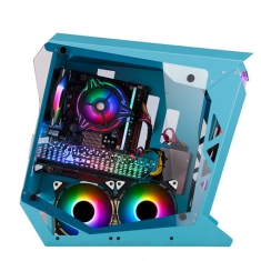 金河田小船长异形个性创意电竞游戏台式主机箱网咖水冷玻璃侧机箱