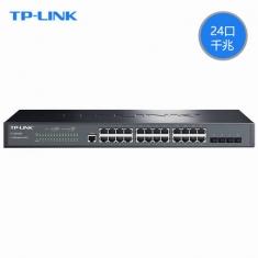 TP-LINK TL-SG5428 24口千兆三层网管核心交换机SFP端口汇聚vlan