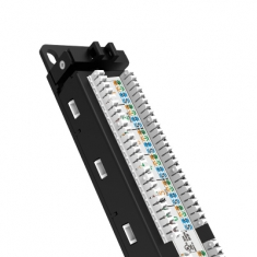 TP-LINK TL-ED6024六类非屏蔽配线架24口达标过测试标准1U机架式