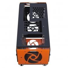 金河田普易达异形S86  竞技游戏小机箱  炫酷异性游戏造型