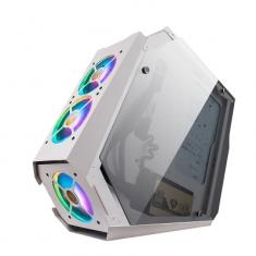 金河田双擎5台式电脑箱网咖水冷钢化玻璃全侧透明ATX大板网吧机箱