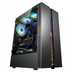 先马剑魔电竞版透明全侧透电脑机箱台式RGB水冷itx ATX剑魔机箱