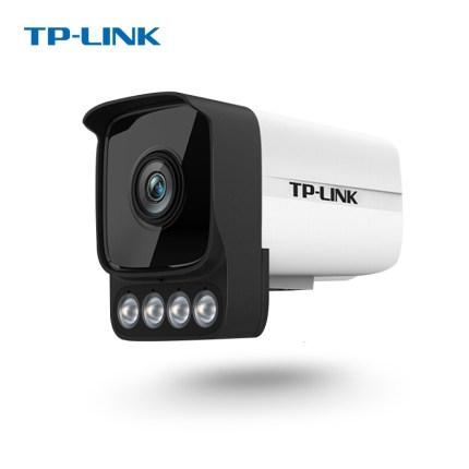 TP-LINK TL-IPC536HP-W安防摄像头监控300万全彩夜视高清室内外