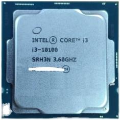 intel/英特尔 酷睿I3 10100 酷睿四核八线程CPU处理器1200