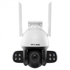 TP-LINK TL-IPC634-A4 300万外挂全彩星光室外无线摄像头高清室外监控夜视防水360度手机远程