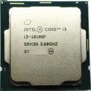 英特尔十代     I3  10100F   四核散片CPU
